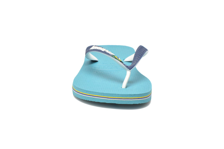 Flip flops Havaianas Brasil Mix H Blue model view