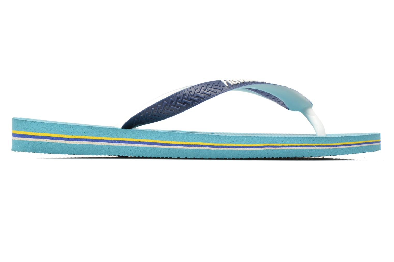 Flip flops Havaianas Brasil Mix H Blue back view