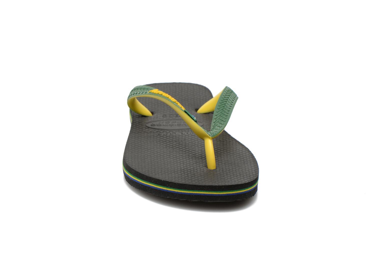 Flip flops Havaianas Brasil Mix H Green model view