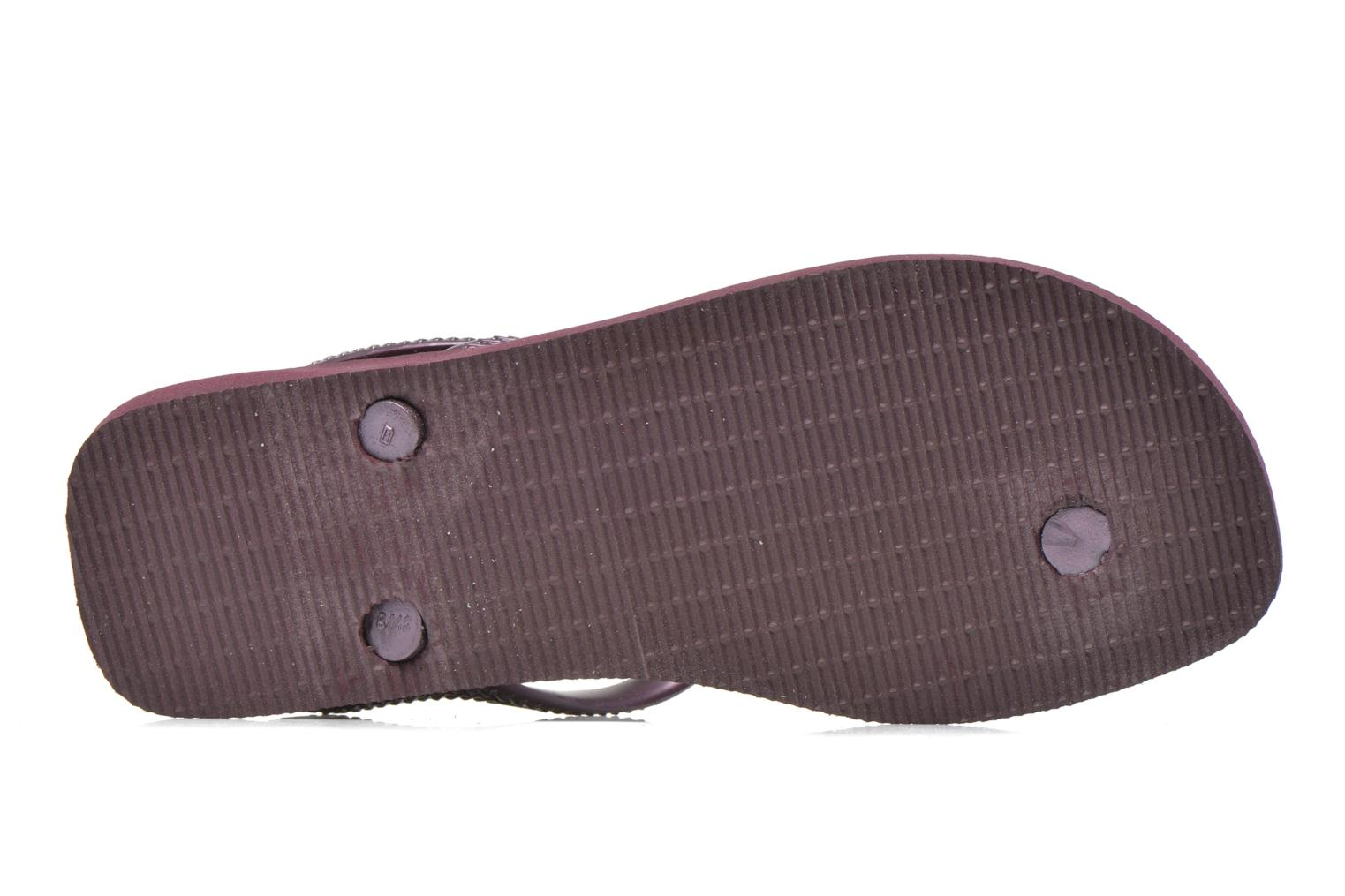 Sandals Havaianas Flash Urban Purple view from above