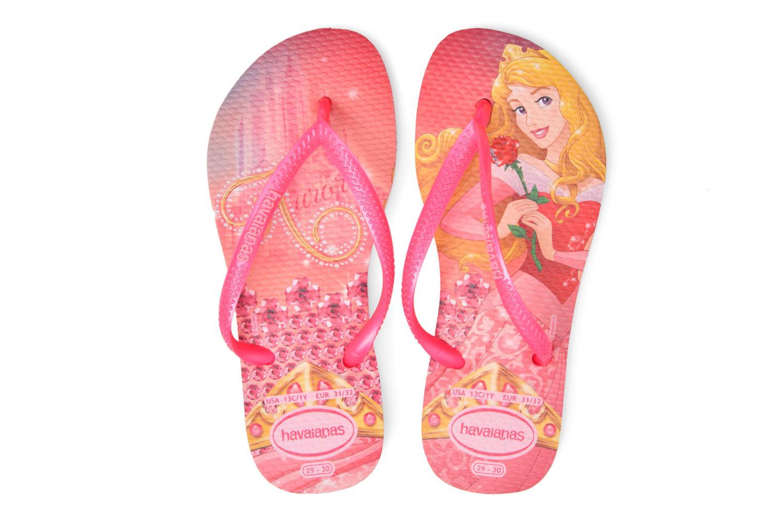 Kids Slim Princess Crystal Rose/Shocking Pink