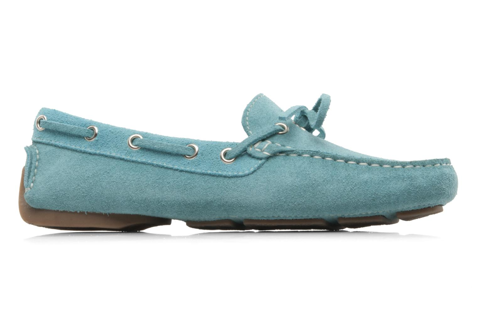 Loafers Georgia Rose Palario Blue back view