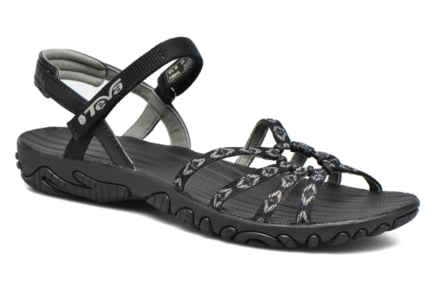 Sport shoes Teva Kayenta W Black detailed view/ Pair view