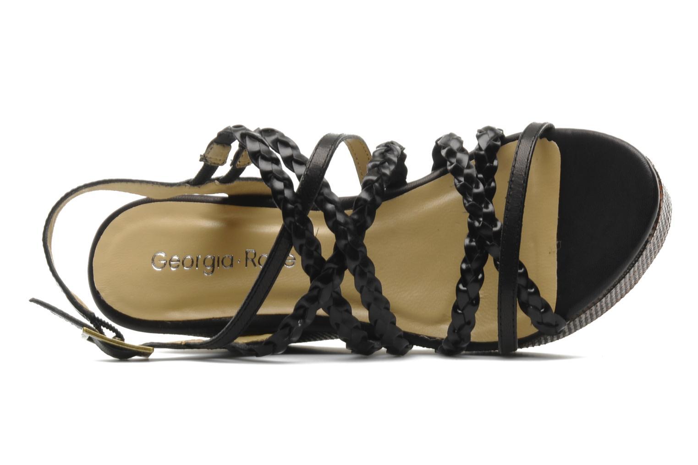 Sandales et nu-pieds Georgia Rose Sabrini Noir vue gauche