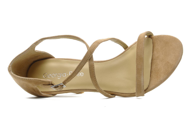 Sandales et nu-pieds Georgia Rose Soara Beige vue gauche