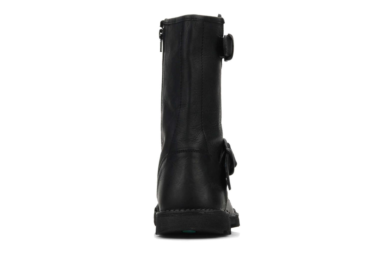 Bottines et boots Kickers Kickbike Noir vue droite