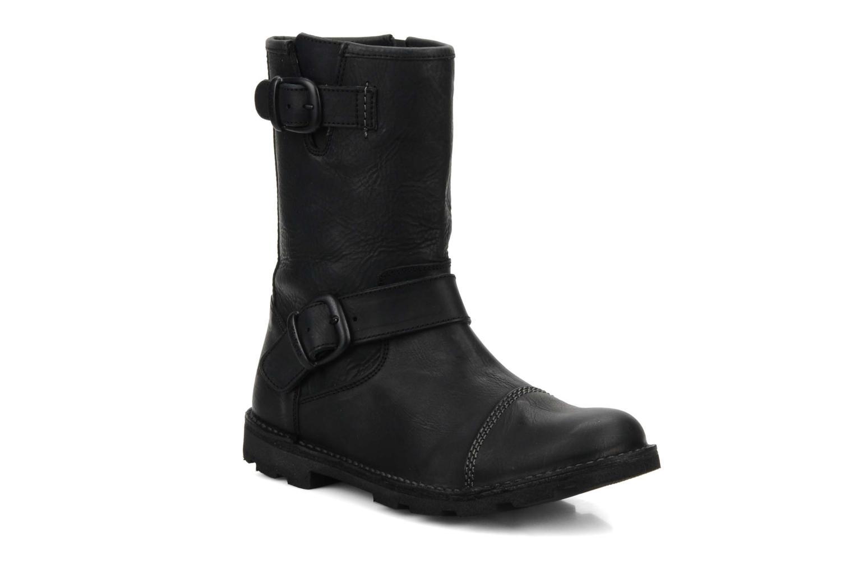 Bottines et boots Kickers Kickbike Noir vue détail/paire
