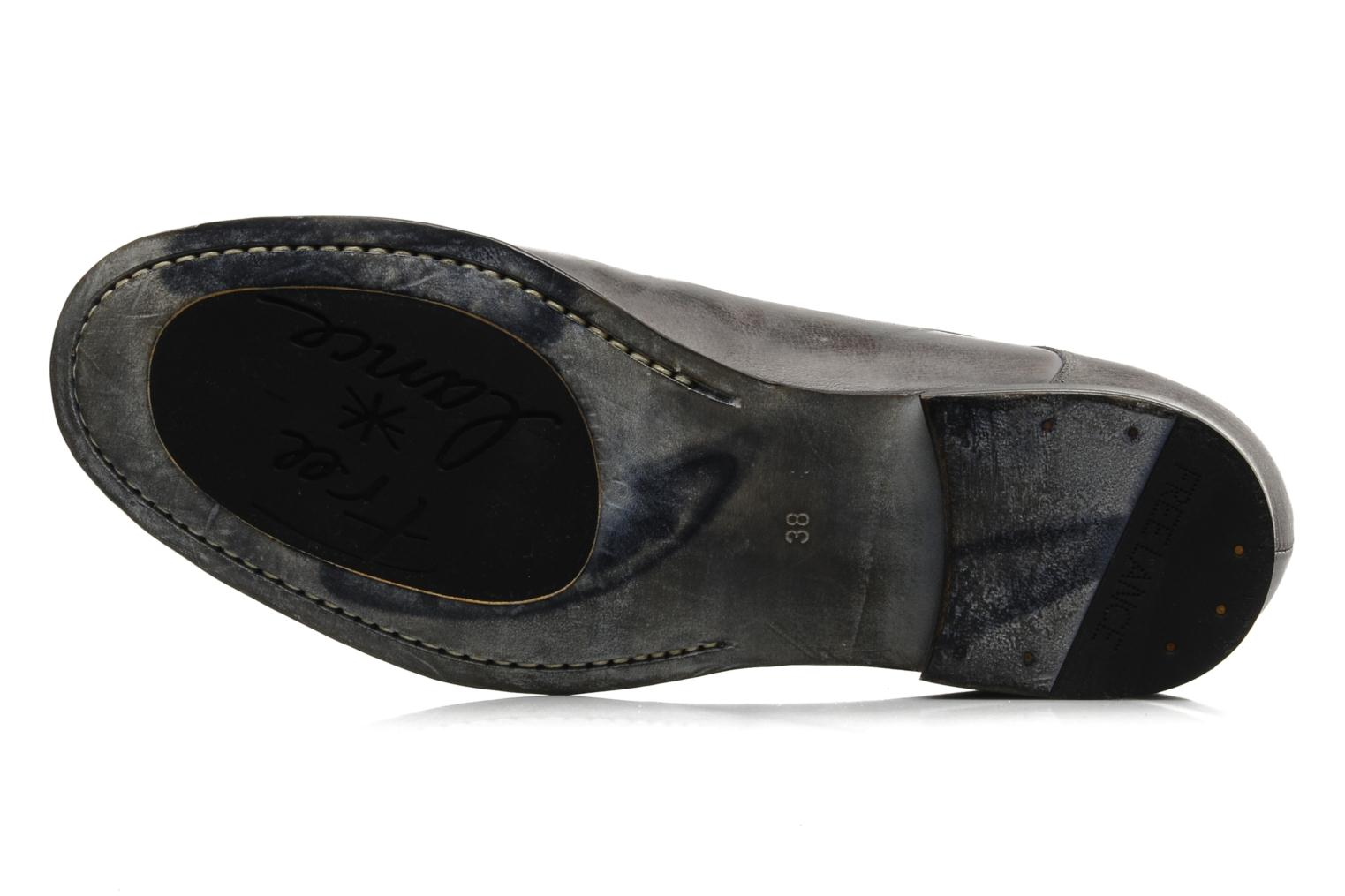 Lace-up shoes Free Lance Azev 4 derby Grey view from above
