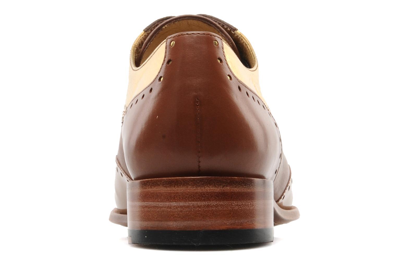 Chaussures à lacets Free Lance Totsy 4 derby perfo Marron vue droite