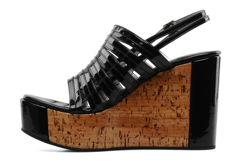 Sandalen Free Lance Daphne 7 sandalstrap schwarz ansicht von vorne