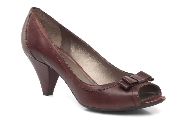 Zapatos de tacón Geox D Francia Z Marrón vista de detalle / par
