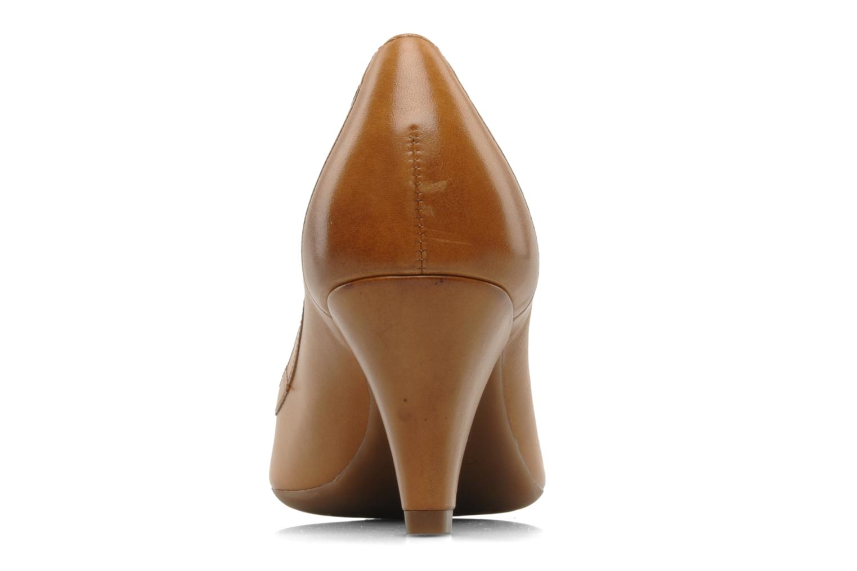 Zapatos de tacón Geox D Francia Z Marrón vista lateral derecha