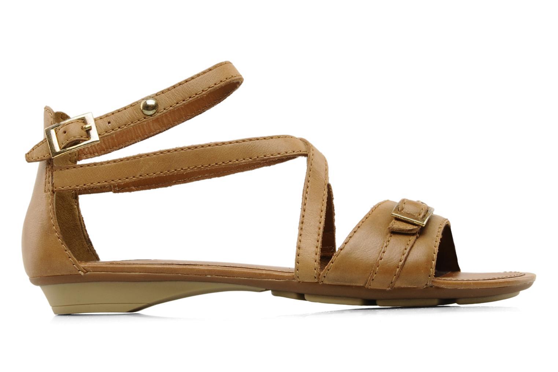 Sandals Geox D felisa d Brown back view