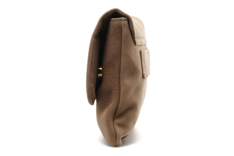 Handbags Unisa ZBOREAL Beige model view