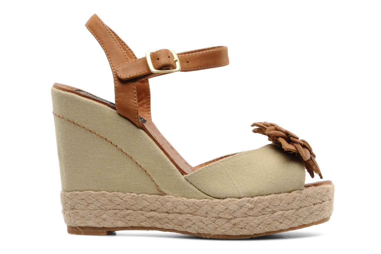 Sandales et nu-pieds Bertie Giotto Beige vue derrière