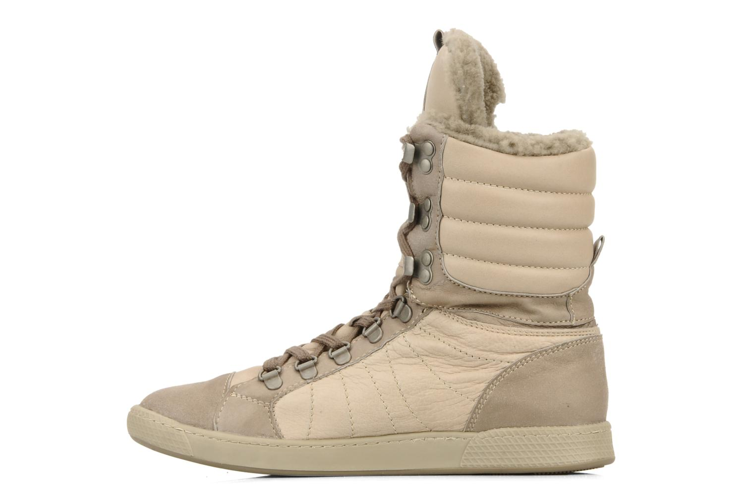 Sneakers Pataugas Janet w Beige se forfra