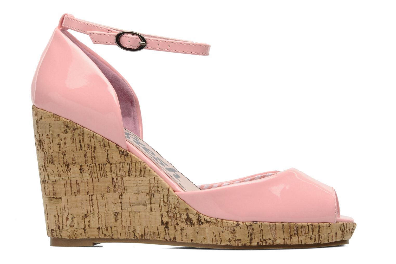 Sandales et nu-pieds Refresh Arue Rose vue derrière