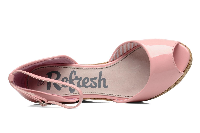 Sandalen Refresh Arue rosa ansicht von links