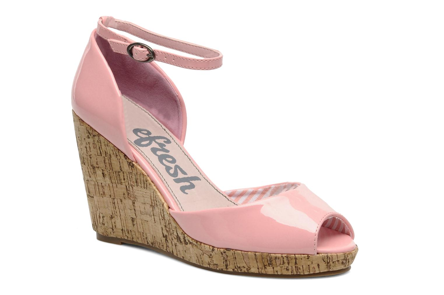 Sandals Refresh Arue Pink detailed view/ Pair view