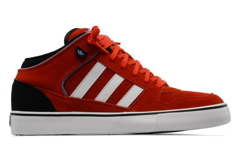 Baskets Adidas Originals Culver Vulc Mid Rouge vue derrière