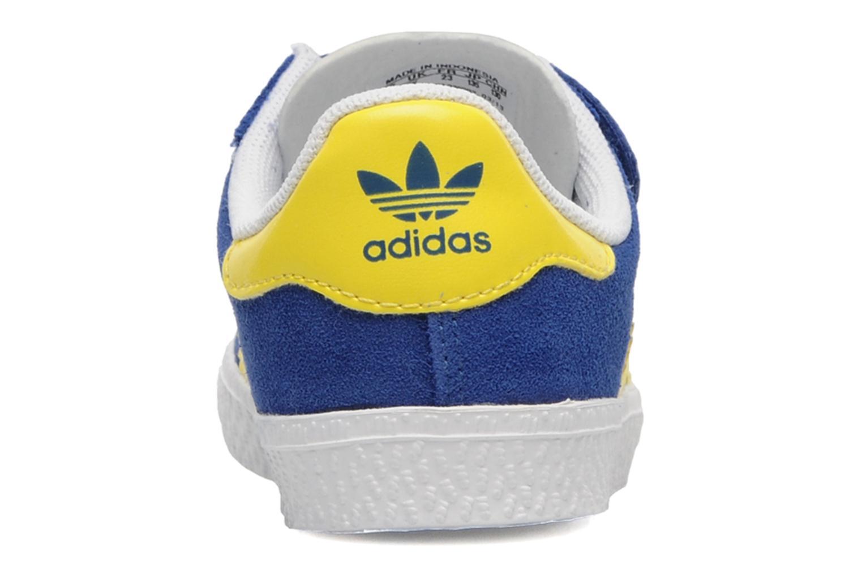 Sneakers Adidas Originals Gazelle 2 CF I Blauw rechts