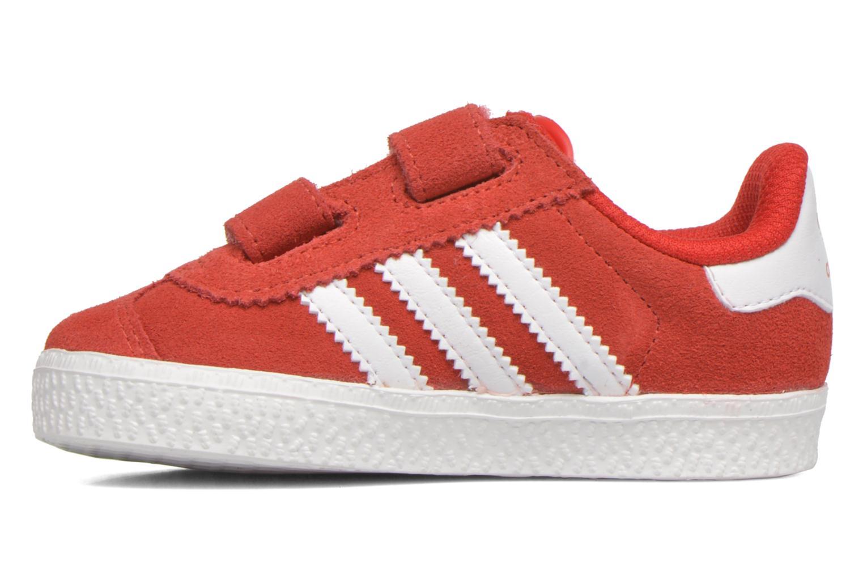 Sneaker Adidas Originals Gazelle 2 CF I rot ansicht von vorne