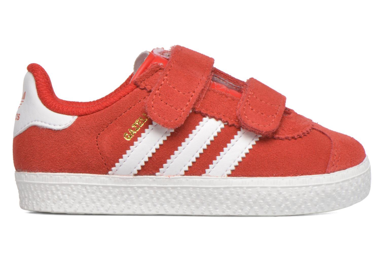 Sneaker Adidas Originals Gazelle 2 CF I rot ansicht von hinten