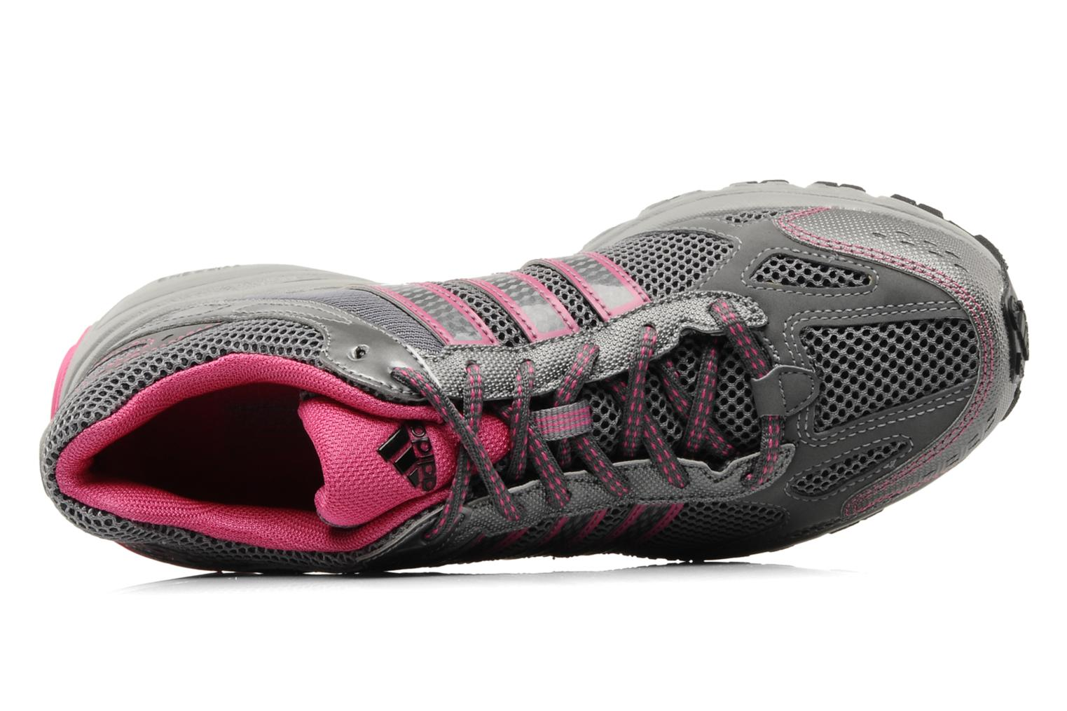 Sport shoes Adidas Performance Duramo 4 TR W Grey view from the left