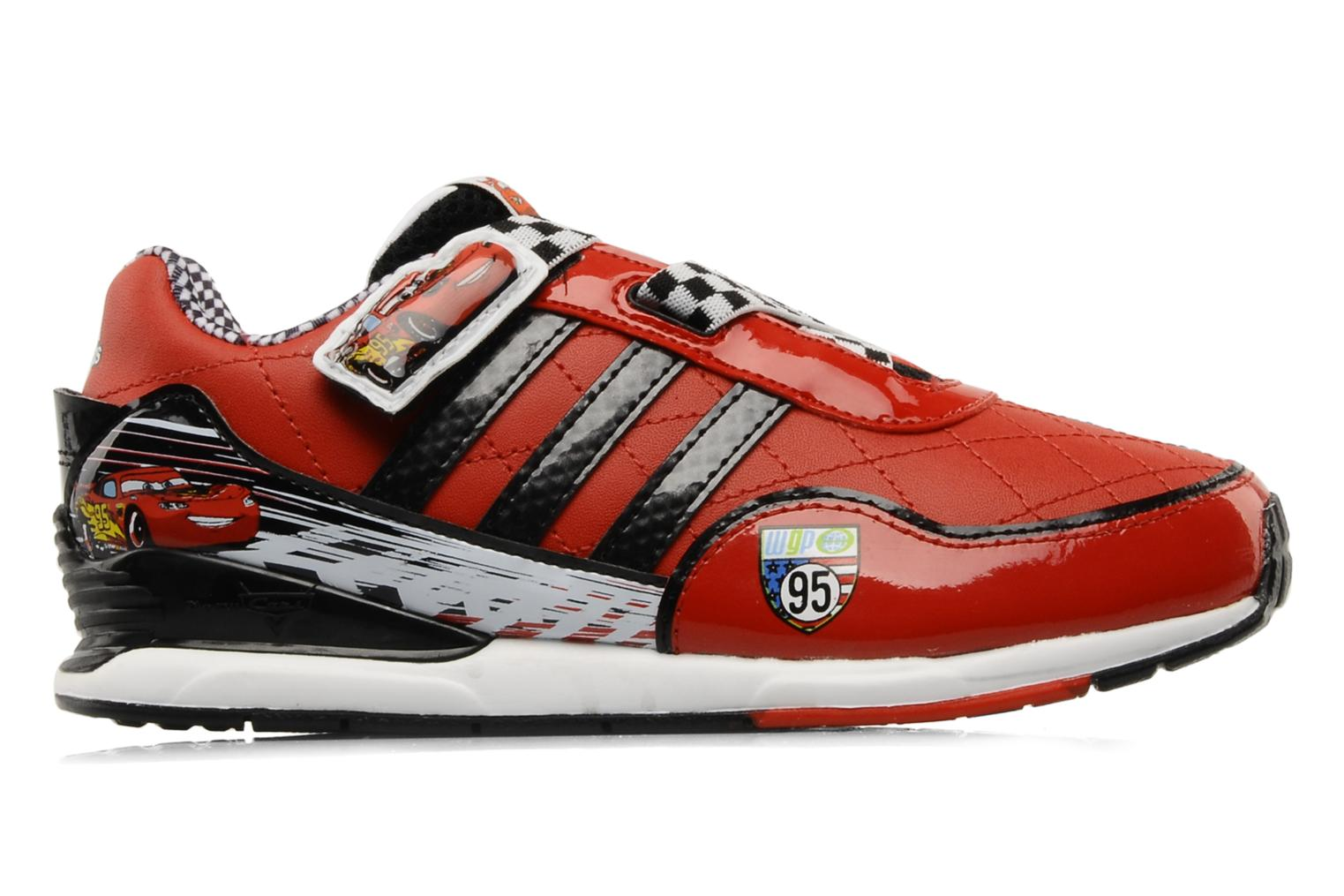 Sneakers Adidas Performance Disney Cars 2 CF C Rood achterkant