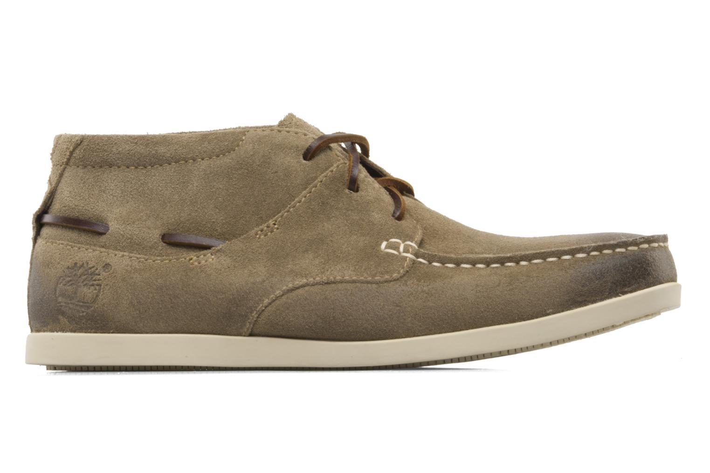 Zapatos con cordones Timberland CL 16 Chukka Beige vistra trasera