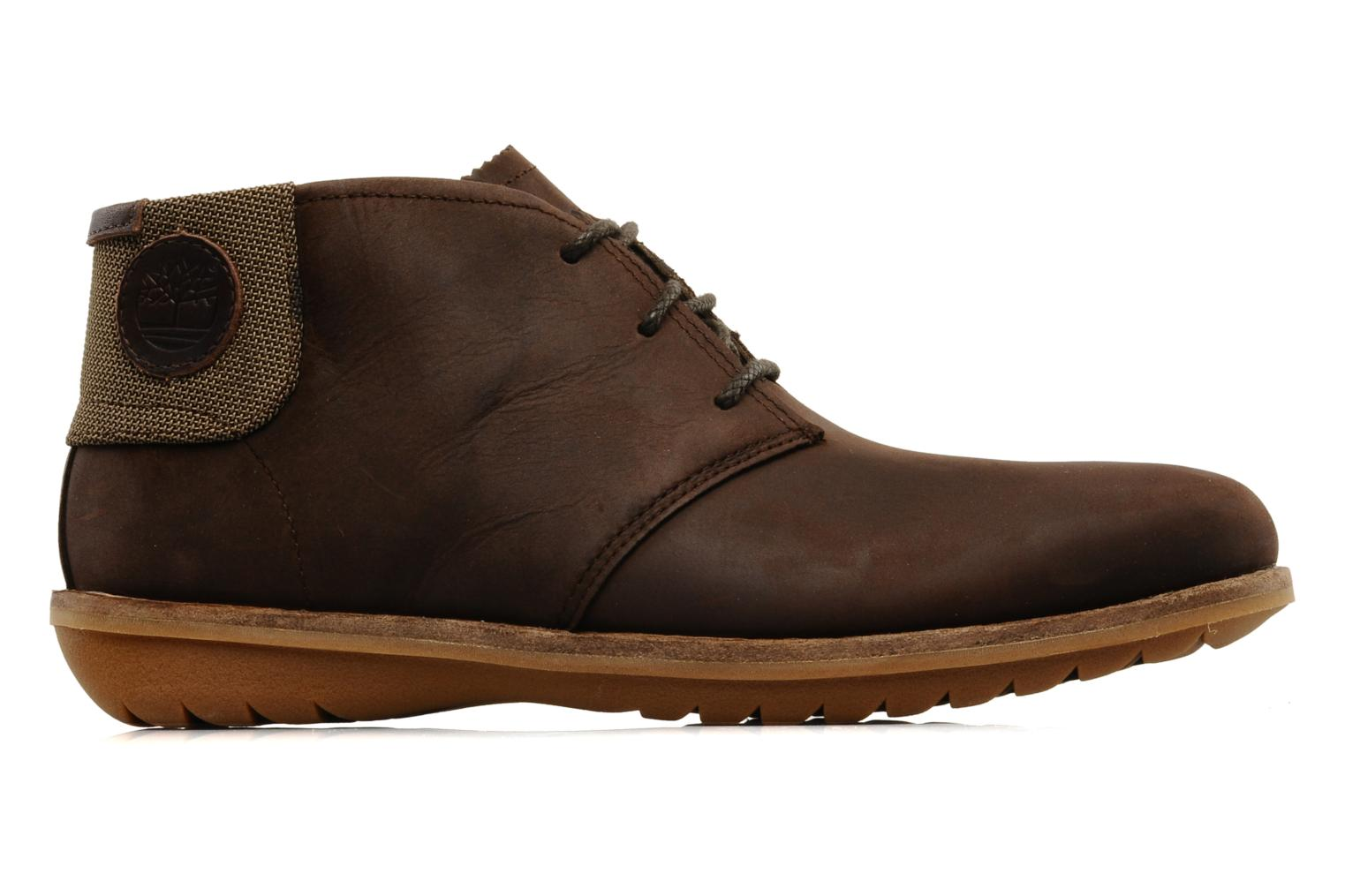 Chaussures à lacets Timberland Earthkeepers Front Country Travel Plain Toe Chukka Marron vue derrière