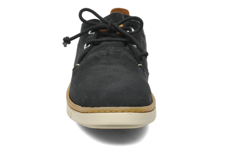 Sneaker Timberland Earthkeepers Hookset Handcrafted Fabric Oxford schwarz schuhe getragen