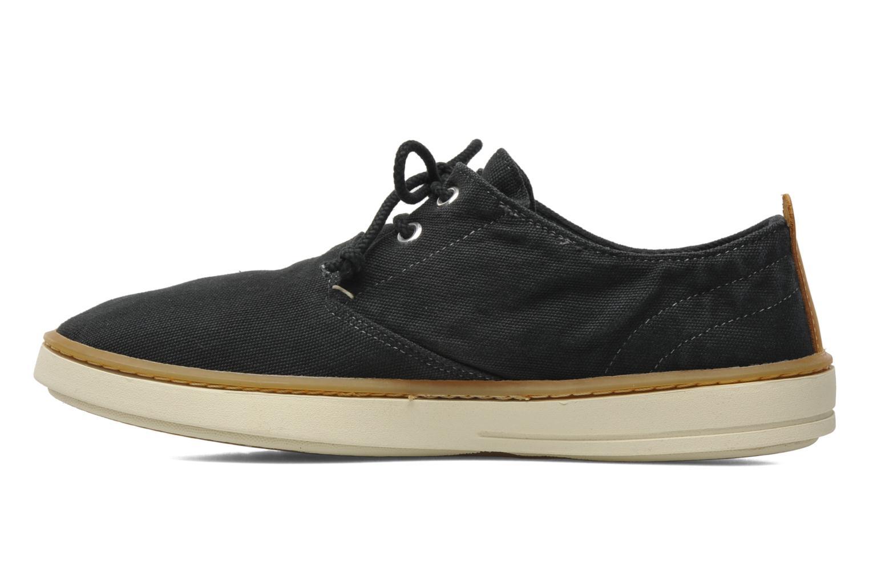 Sneaker Timberland Earthkeepers Hookset Handcrafted Fabric Oxford schwarz ansicht von vorne