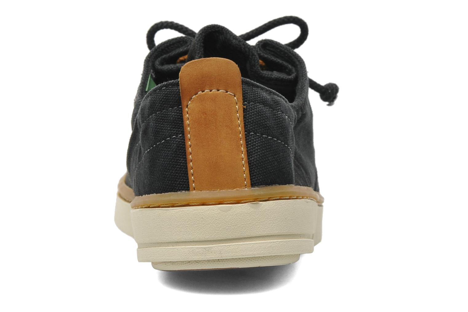 Baskets Timberland Earthkeepers Hookset Handcrafted Fabric Oxford Noir vue droite