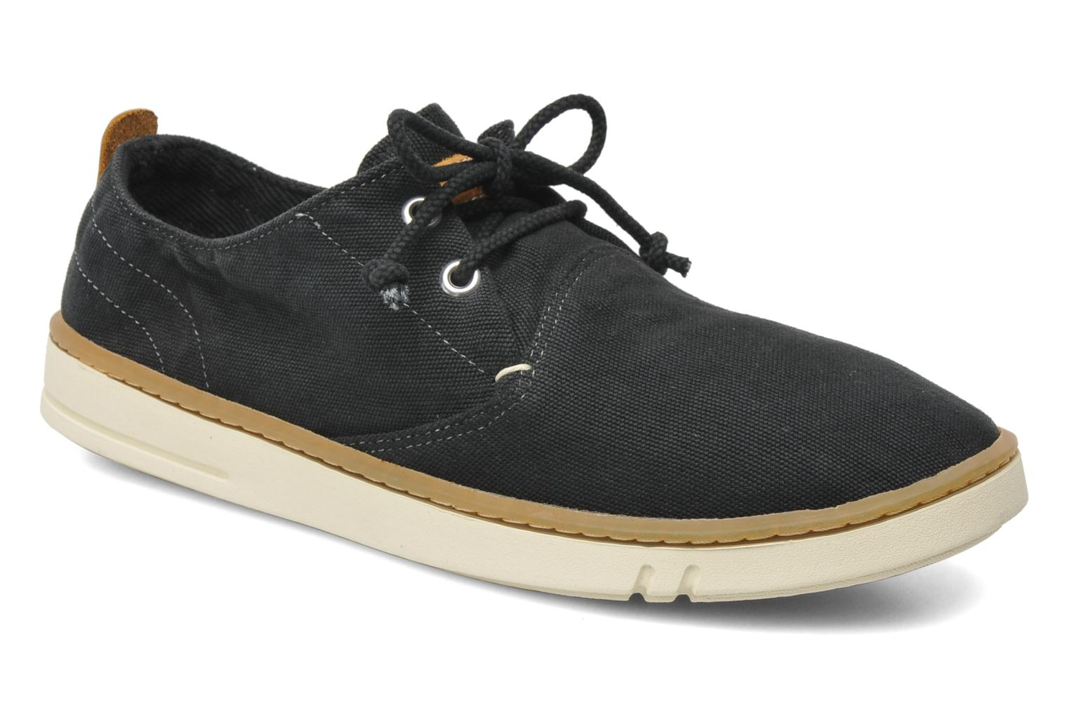 Baskets Timberland Earthkeepers Hookset Handcrafted Fabric Oxford Noir vue détail/paire