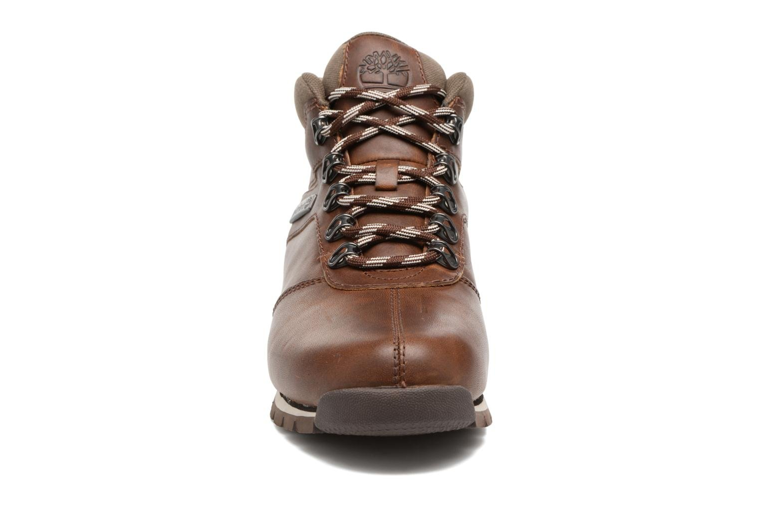 Lace-up shoes Timberland Splitrock 2 Brown model view
