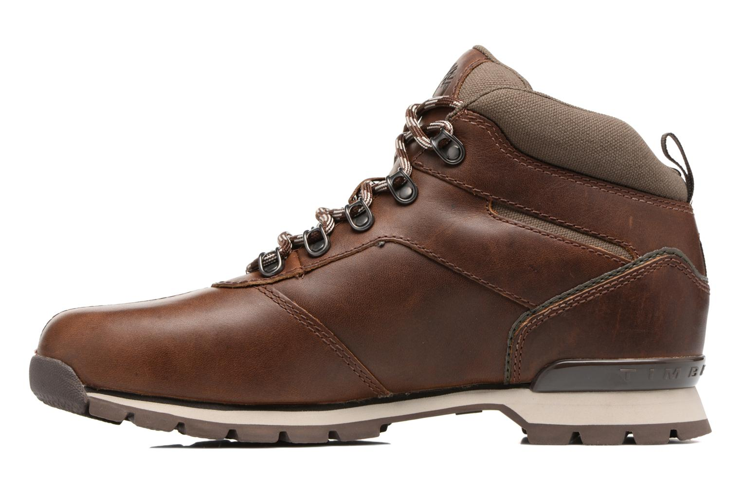 Lace-up shoes Timberland Splitrock 2 Brown front view