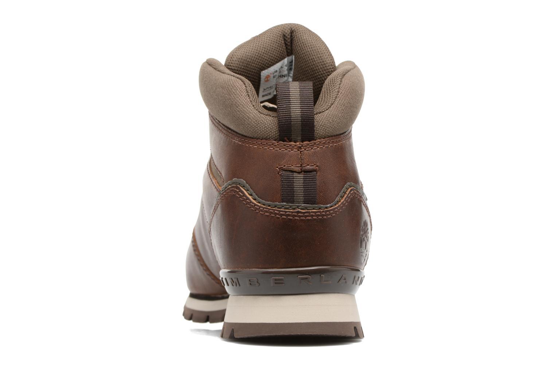 Snörade skor Timberland Splitrock 2 Brun Bild från höger sidan