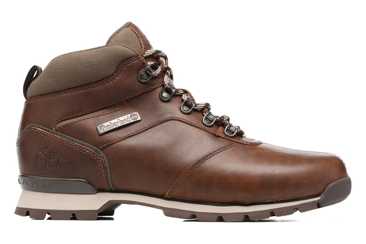 Lace-up shoes Timberland Splitrock 2 Brown back view