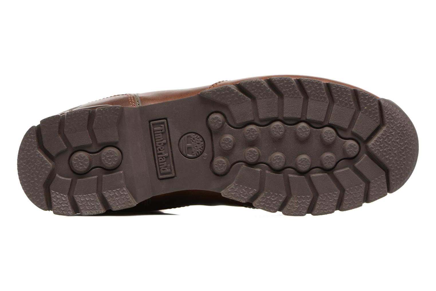 Lace-up shoes Timberland Splitrock 2 Brown view from above