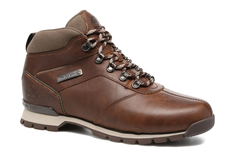 Snörade skor Timberland Splitrock 2 Brun detaljerad bild på paret