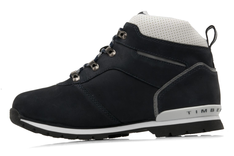 Boots en enkellaarsjes Timberland Splitrock 2 Kid Blauw voorkant