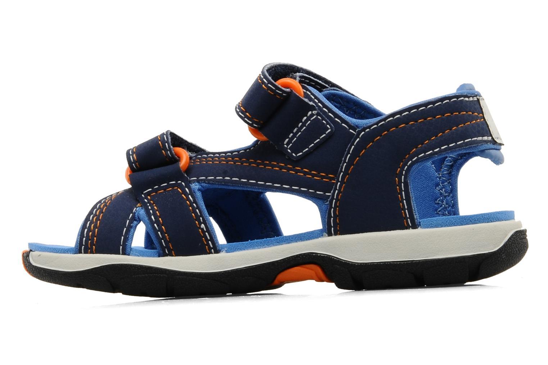 Sportschuhe Timberland Mad River 2-Strap Sandal blau ansicht von vorne