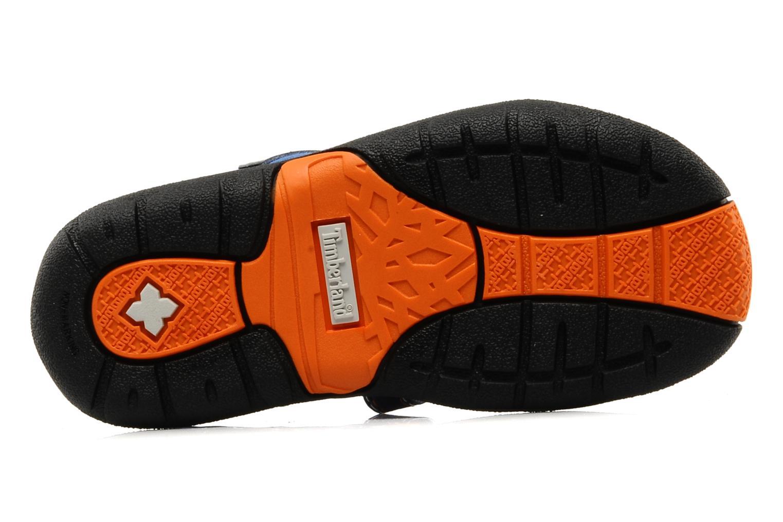 Sportschuhe Timberland Mad River 2-Strap Sandal blau ansicht von oben