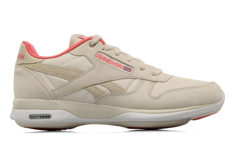Chaussures de sport Reebok Easytone CL Leather Beige vue derrière