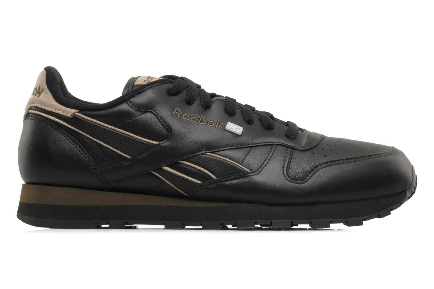 Sneakers Reebok CL Leither Matl Nero immagine posteriore
