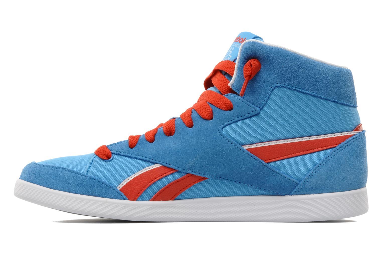 Sneakers Reebok Fabulista Mid Blauw voorkant