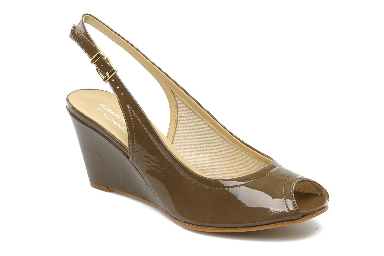 Sandales et nu-pieds Elizabeth Stuart Bambi 348 Marron vue détail/paire