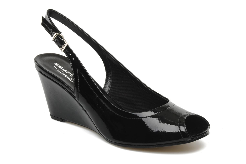 Sandales et nu-pieds Elizabeth Stuart Bambi 348 Noir vue détail/paire