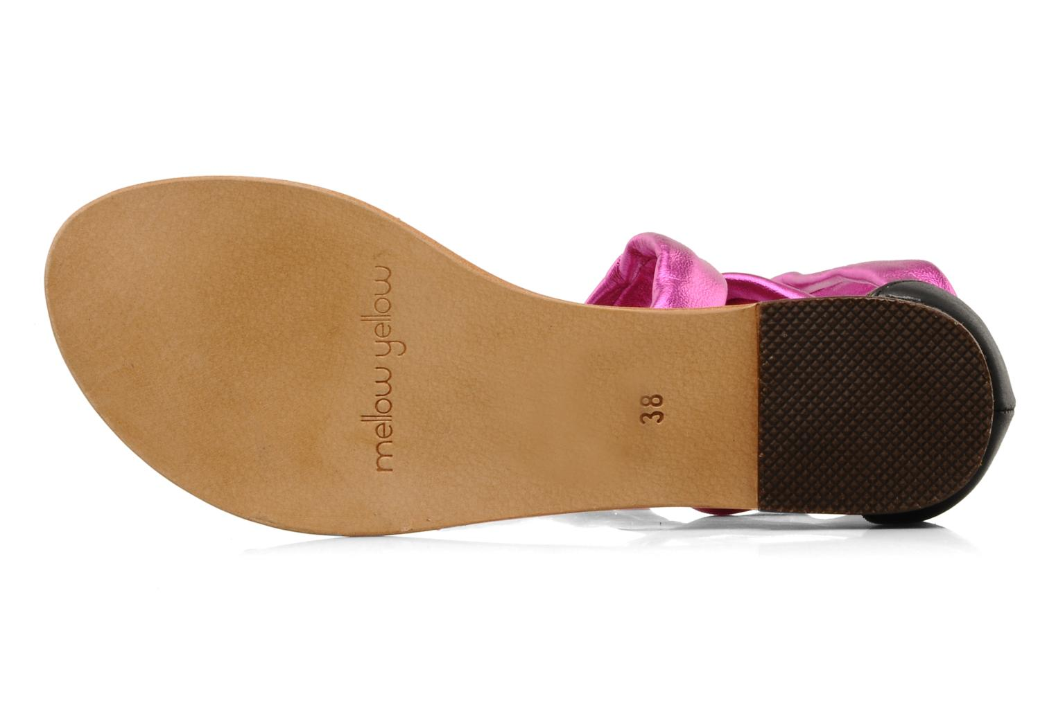 Sandals Mellow Yellow Jaipur Pink view from above